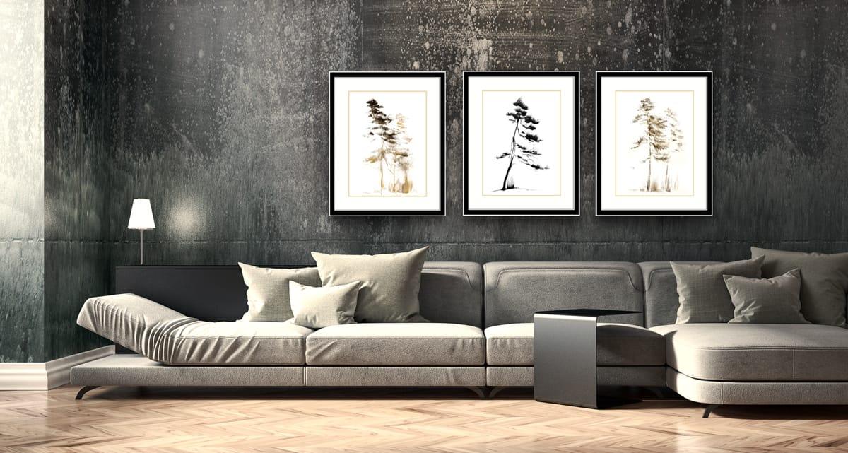 Nowoczesne Obrazy Nowoczesne Obrazy Do Salonu I Sypialni Ręczne